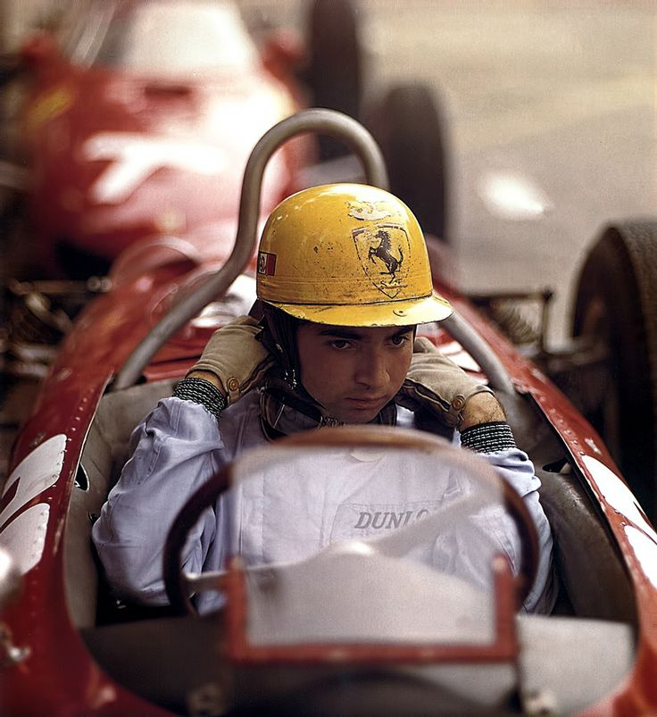 Ferrari Dino 165 (Monaco 1962) Ricardo Rodiguez