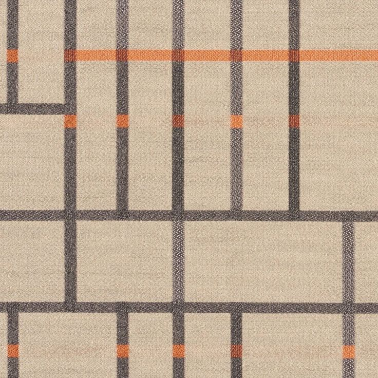 Subdivide - Zone| Subdivide harkens back to the Bauhaus, where architectural drawings and plans were drafted with the guiding principles and foundation of modernism. Utilizing a loom with a large horizontal repeat capability, we've created a large pattern of linework and blocks designed to be cut and sewn without having to match the repeat. Natural fibers on the surface create a soft hand, while a nylon warp provides the strength to meet 100,000 double rubs.