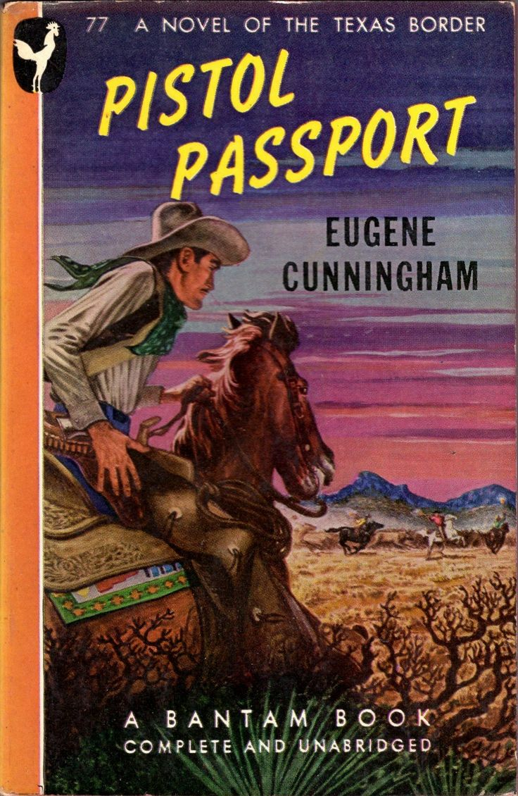Western Book Cover Art ~ Best great vintage western cover art images on