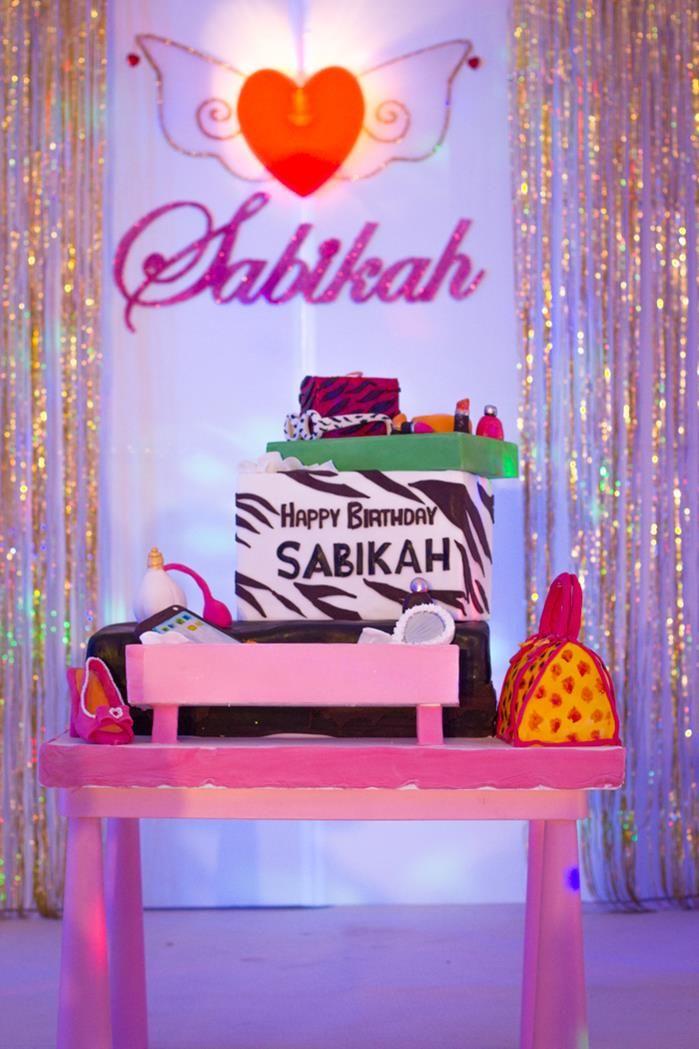 A Fashion Show Birthday Party With Lots of Really Cute Ideas via Kara's Party Ideas | KarasPartyIdeas.com #FashionRunway #FashionShowParty #...