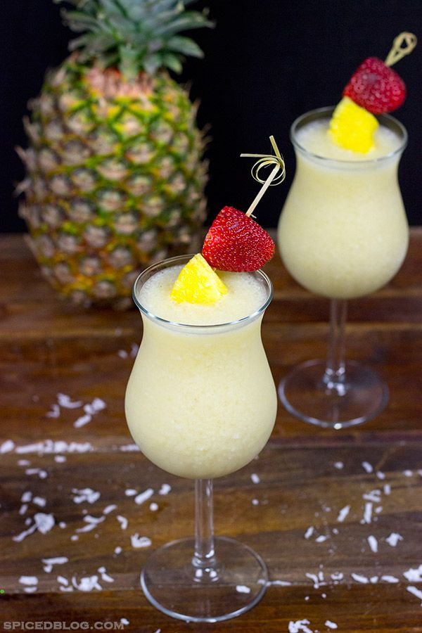 Classic Piña Colada...Just hearing someone say it makes me want one.  Along with Margaritas, it's on the top 10 list of reasons to become a beach bum.
