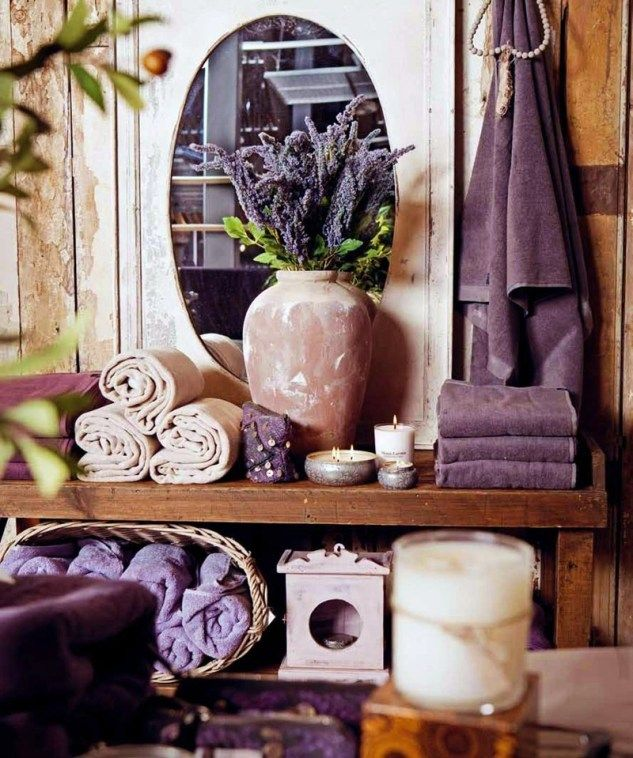 Lavender Bathroom Decorating Ideas