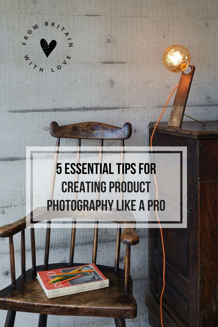 Love the midcentury modern rustic styling here. We talk to the photographer to get the tricks of the trade. Photographer Yeshen Venema shares his secrets for creating great product photography