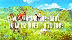 """ Favorite Studio Ghibli Quotes "" made by aprettyfire.tumblr.com"