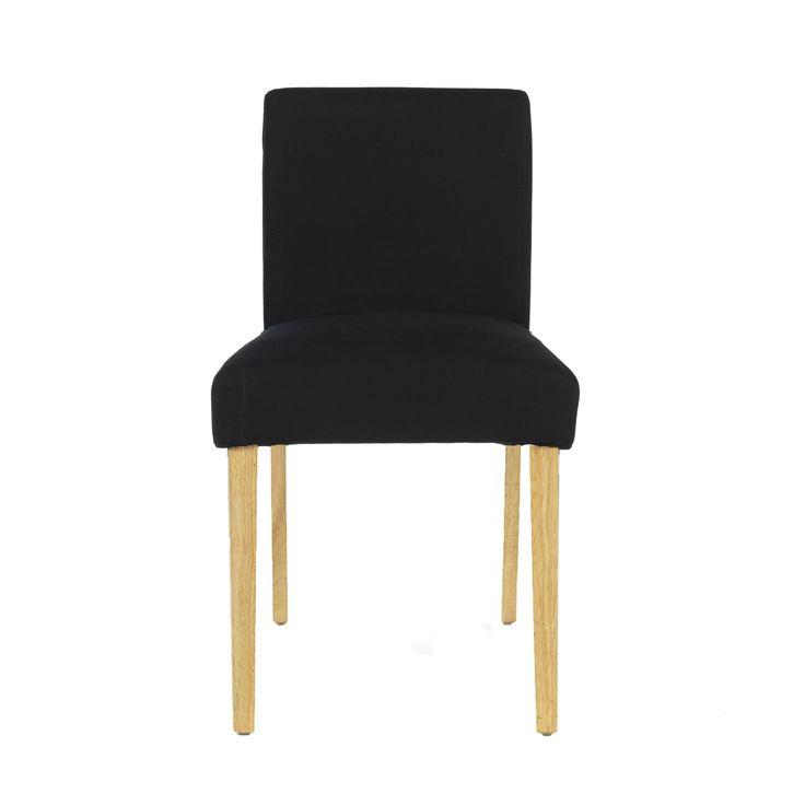 Amazing Housse De Chaise Noir Meryl Chaises Tables Et