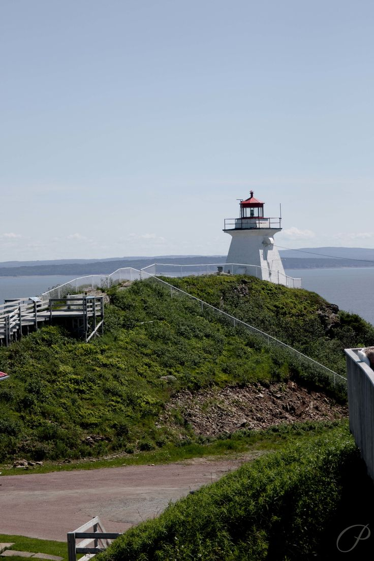 The lighthouse at Cape Enrage, New Brunswick