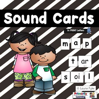 The Best of Teacher Entrepreneurs II: Sound Cards - Easily identify, and use vowels, digraphs, and consonants.
