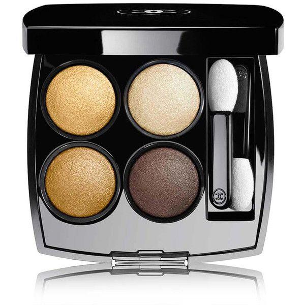 CHANEL Multi-Effect Quadra Eyeshadow - Colour Codes Elegants (€47) ❤ liked on Polyvore featuring beauty products, makeup, eye makeup, eyeshadow, chanel eye makeup, chanel eyeshadow, chanel eye shadow, chanel and creamy eyeshadow
