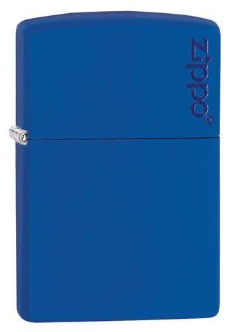 229ZL, Royal Blue Matte with Zippo Logo