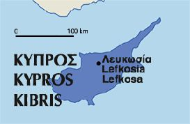 Cyprus Situated in the north-eastern part of the Mediterranean Sea and to the south of Turkey, Cyprus is the largest island in the eastern Mediterranean as well as being the third smallest country in the EU
