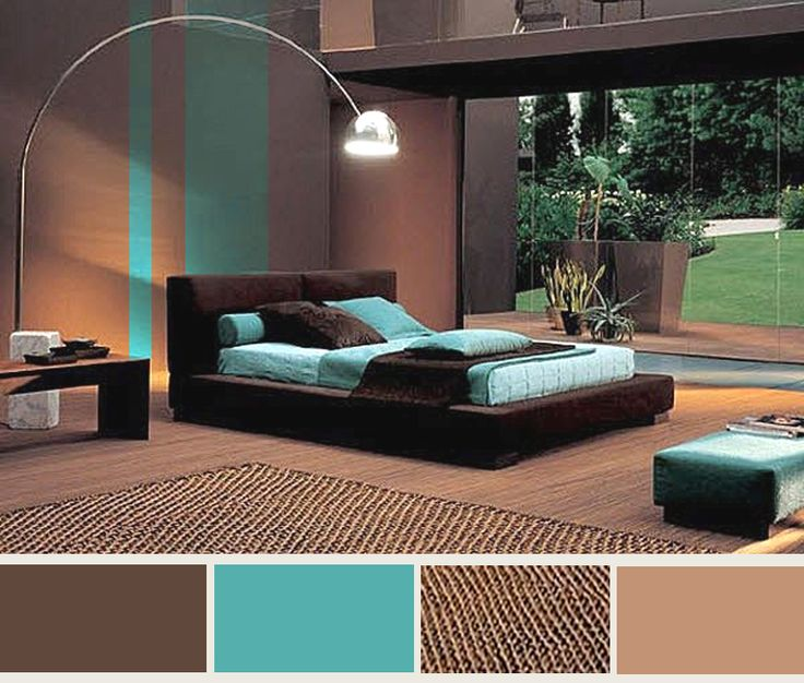 27 best teal brown bedroom images on pinterest for Brown and turquoise living room ideas