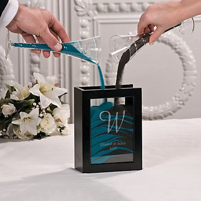 A lovely alternative to lighting a unity candle, and especially popular at destination or beach weddings, sand ceremonies are a beautiful way to symbolize ...