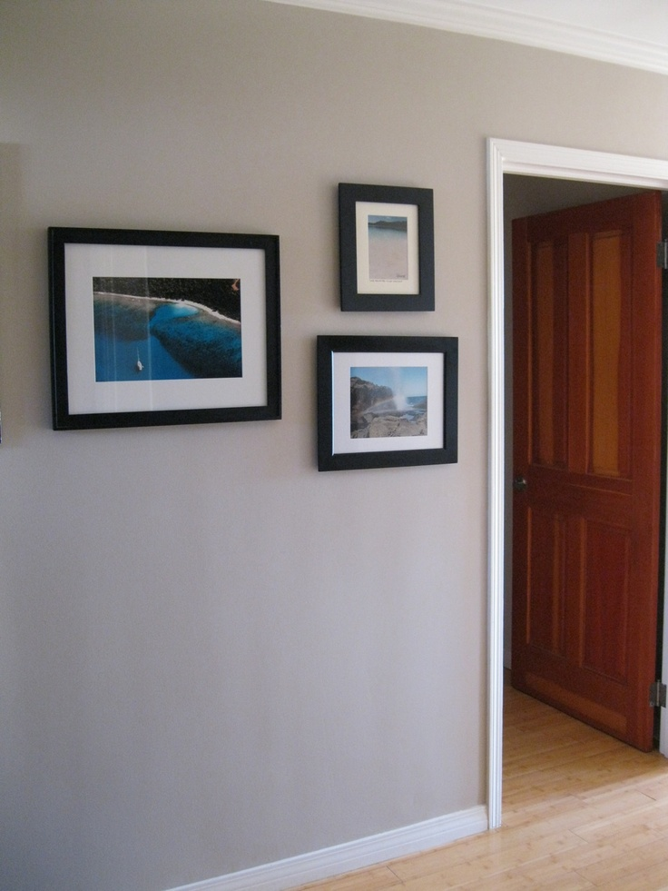Frames On Wall Living Room Hallways