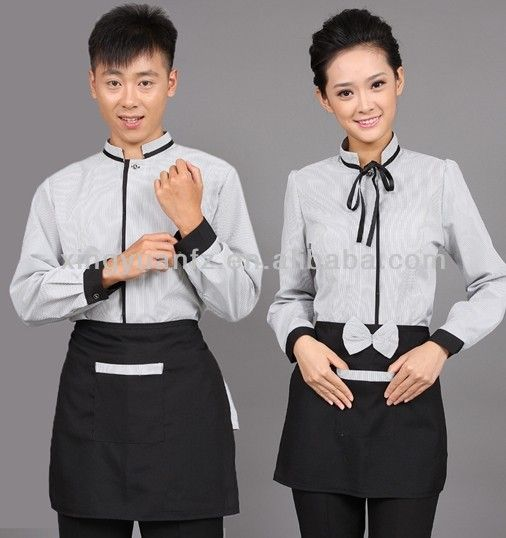 hot saling fashionable designed hotel restaurant uniform