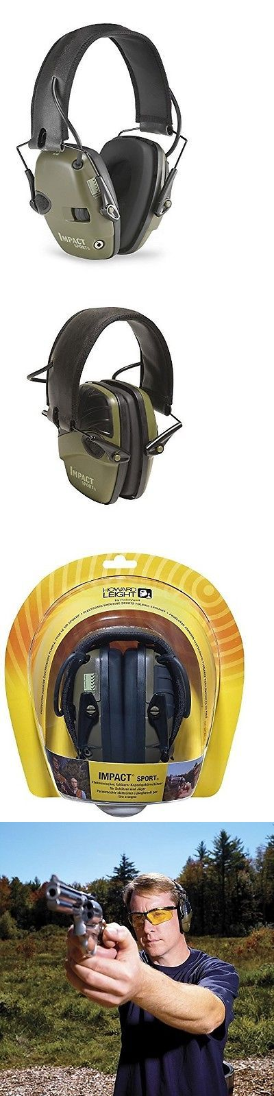Hearing Protection 73942: Electronic Ear Muff Headphones Gun Shooting Protection Hunting Plugs Outdoor New -> BUY IT NOW ONLY: $64.99 on eBay!