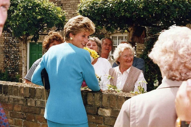 Princess Diana, Sudbury, Suffolk, England, Summer of 1993 by ethel the chicken, via Flickr