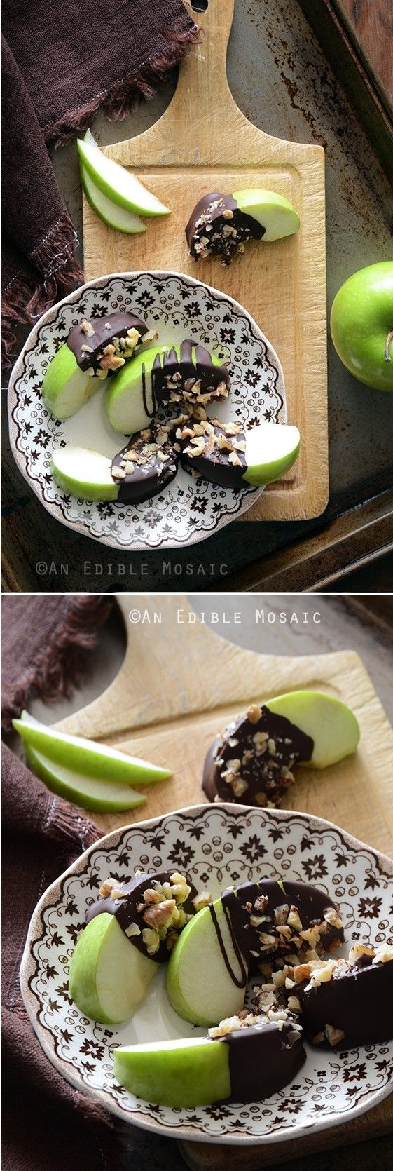 Healthy Candy Apple Wedges