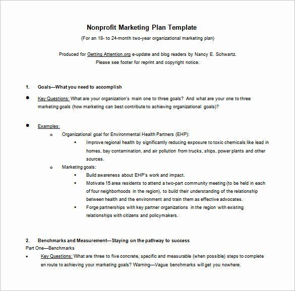 Nonprofit Marketing Plan Template Beautiful 8 Marketing Action Plan Templates Doc Pdf Marketing Plan Template Nonprofit Marketing Plan Nonprofit Marketing