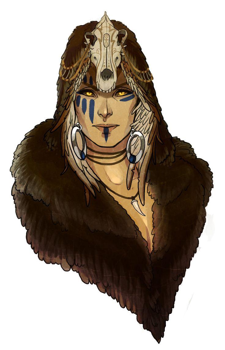 ArtStation - Wolf Witch, Paola Martinez Caballero