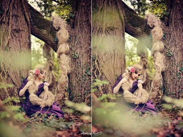 rapunzel concept by StephanyFicut Photography  more here: http:// blog.stephanyficut.com