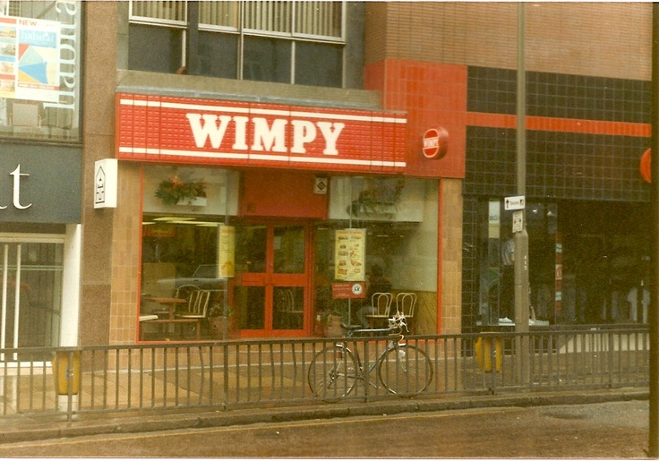 Wimpy. I preferred Wimpy to McDonalds. I always had a Hamburger and milkshake. Milkshakes were thin unlike McDonalds thick variety.