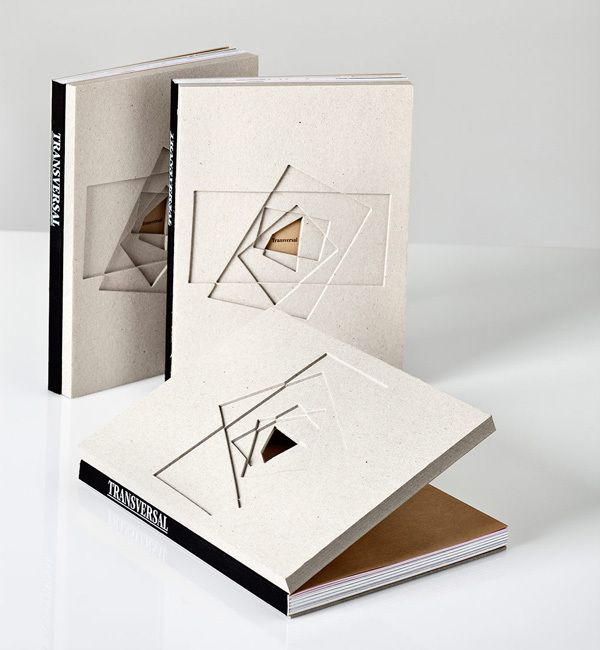 Transversal. Book by Javier , via Behance