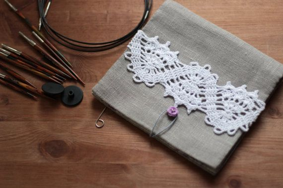 Diy Pdf Sewing Pattern Photo Tutorial Interchangeable Needles Case
