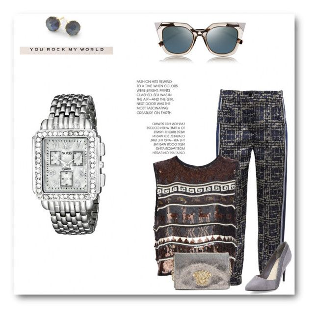 #6 by carmen-dana on Polyvore featuring Jean-Paul Gaultier, Ostwald Helgason, Versace, XOXO, Ippolita and Fendi