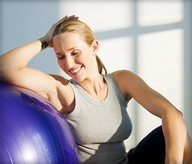 Leona's favorite fitness article - 10 Fun Moves to Reshape Your Body With an Exercise Ball Workout #webmdsweeps on.webmd.com/MZ2dCU