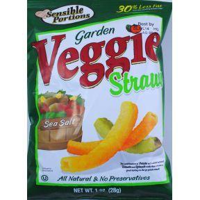 Sensible Portions Garden Veggie Straws  #snack