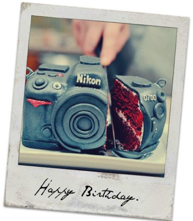 Happy Birthday Photographer