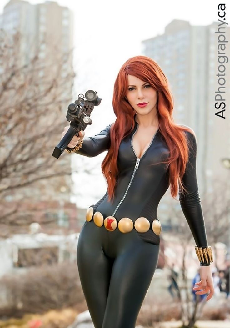 Black widow marvel cosplay - photo#7
