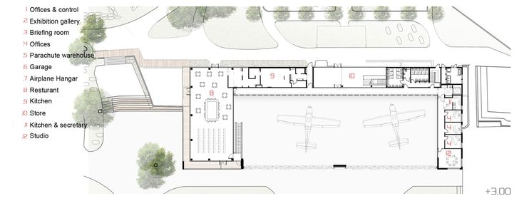 Image 19 of 23 from gallery of Paradive / Schwartz Besnosoff Architects. First Floor Plan