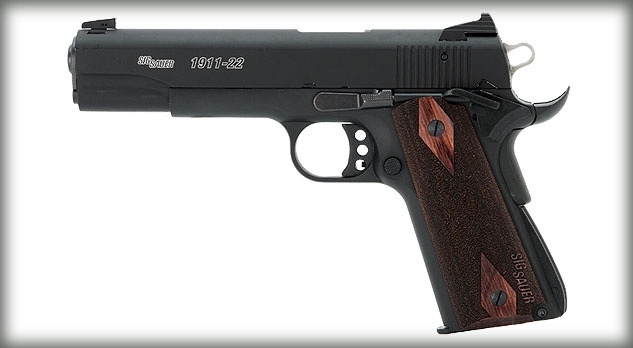 I've been looking at .22 1911's...and gah I want one. Too many guns I want.