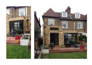 8 best split roof extensions images on pinterest for Split level extension ideas