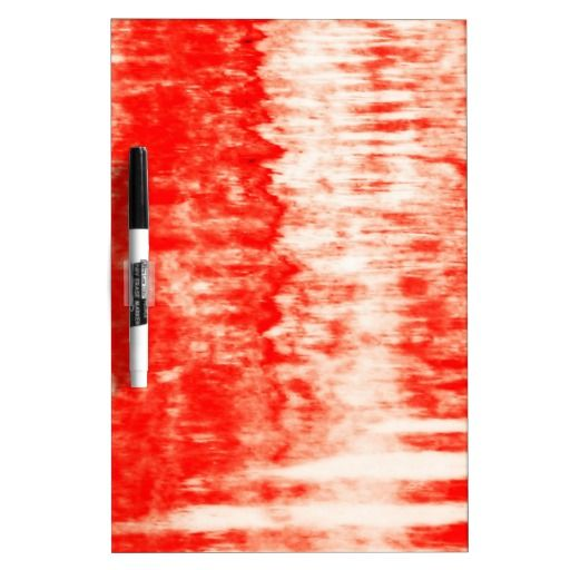 Red sunrise Dry-Erase board