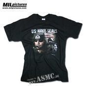 T-Shirt Mil-Pictures US Navy Seals #ArmyShop #NATO #Adventure #Security #Military #Camping