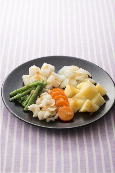 蒸し野菜サラダ