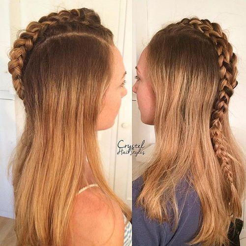 20 Faux Hawk inspirierte Frisuren für Frauen – weibliche Fauxhawk Frisuren