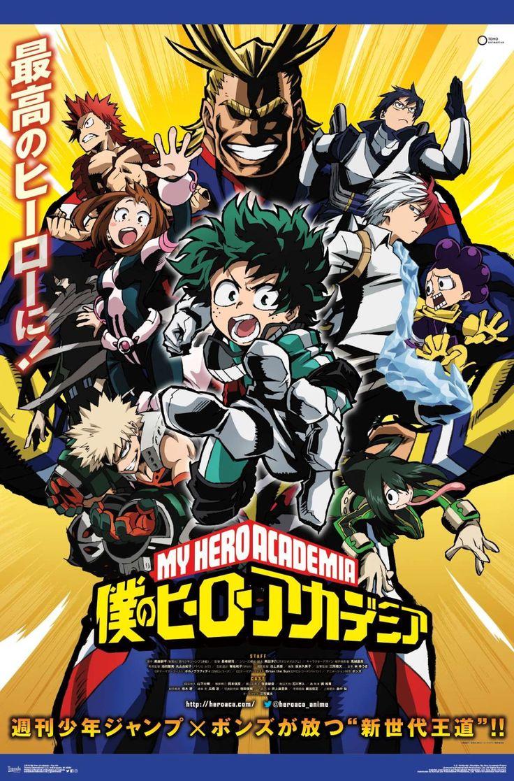 My Hero Academia Key Art Hero Poster Anime Hero Wallpaper