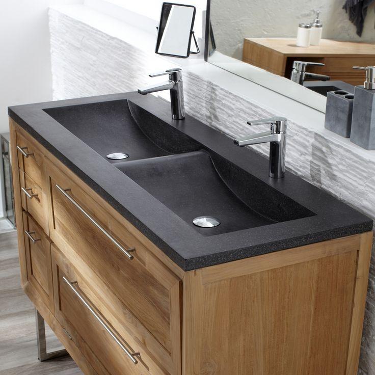 67 best Salle de bain images on Pinterest Bathroom, Stool and - teck salle de bain sol