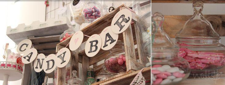 unsere weddstyle candy bar mit vintage elementen und. Black Bedroom Furniture Sets. Home Design Ideas