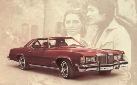 First car I ever bought - 1976 Pontiac Grand Prix... But mine was blue.