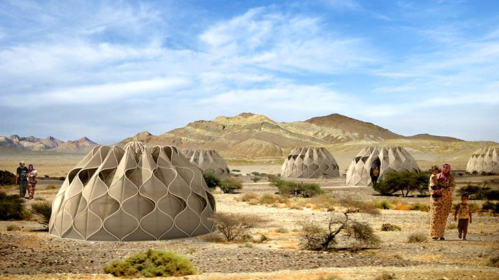 Beautiful Woven Refugee Tents Get Their Power from the Sun. With so many refugees in the world fleeing natural disasters & political violence, these inexpensive, simple, transportable shelters are a practical way to deal with humanitarian crises. Worth noting for all relief agencies.
