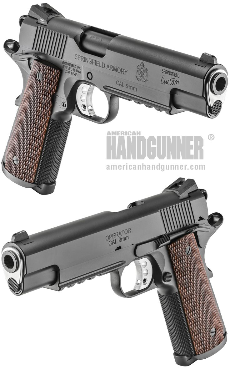 EXCLUSIVE: Springfield Professional Model 1911 9mm | By Michael O. Humphries | The Springfield Armory Custom Shop Professional Model 1911 has a rich and storied history, having been developed and produced for a pistol contract with the FBI's Hostage Rescue Team (HRT). | © American Handgunner 2018
