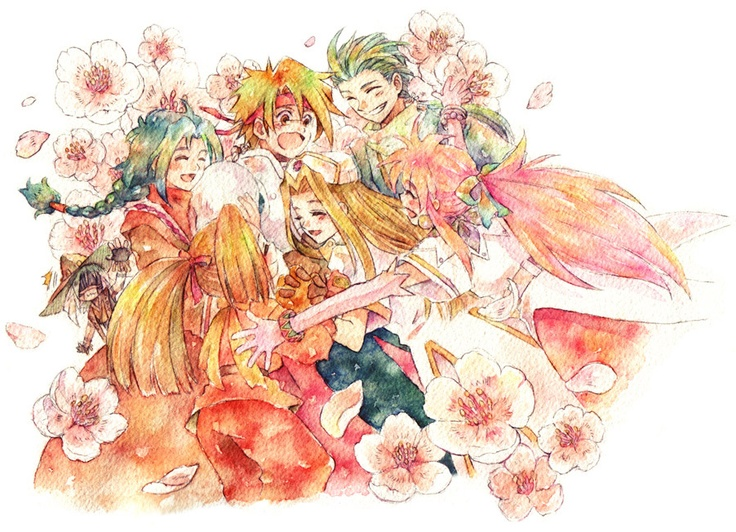 Tales of Phantasia group