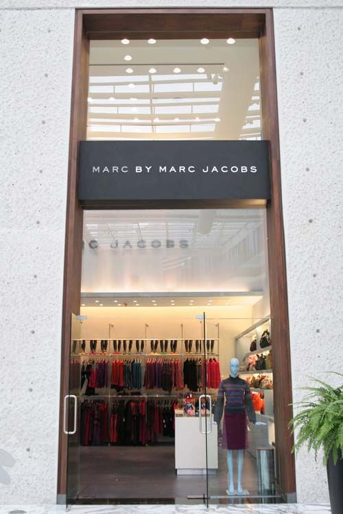 Marc by Marc Jacobs Store in Mexico.