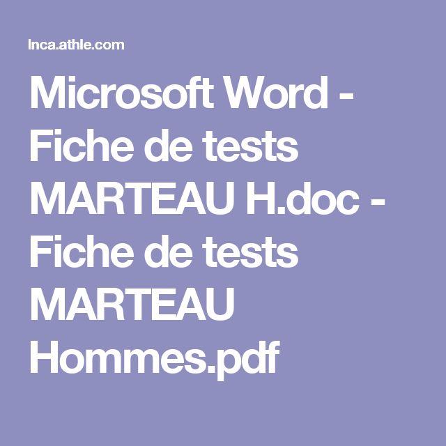 Microsoft Word - Fiche de tests MARTEAU H.doc - Fiche de tests MARTEAU Hommes.pdf