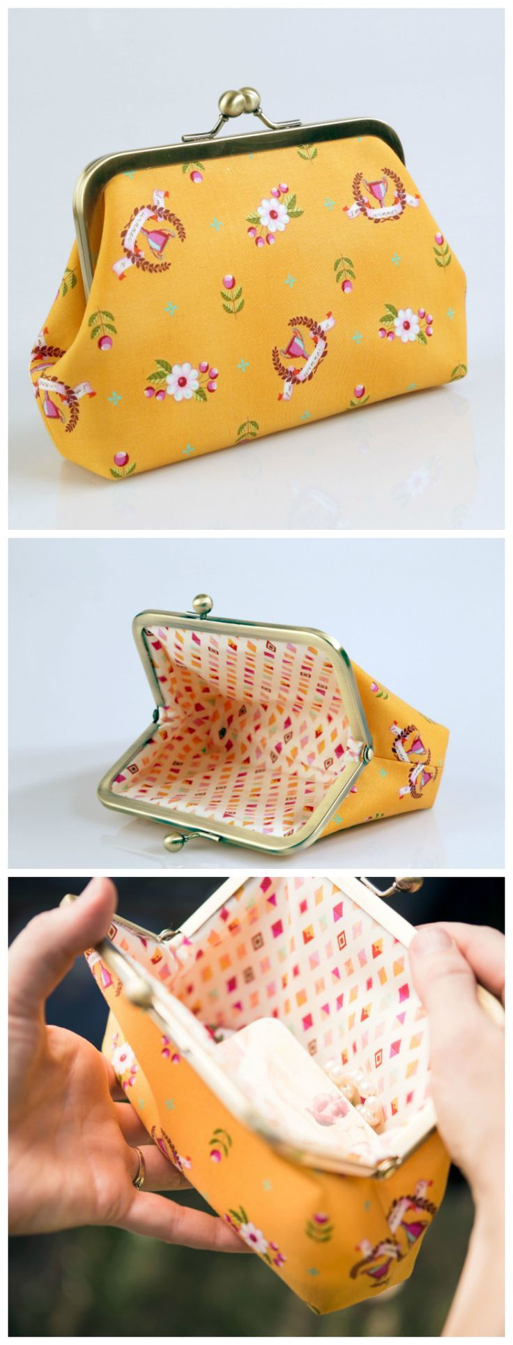 25 Best Ideas About Coin Purse Tutorial On Pinterest