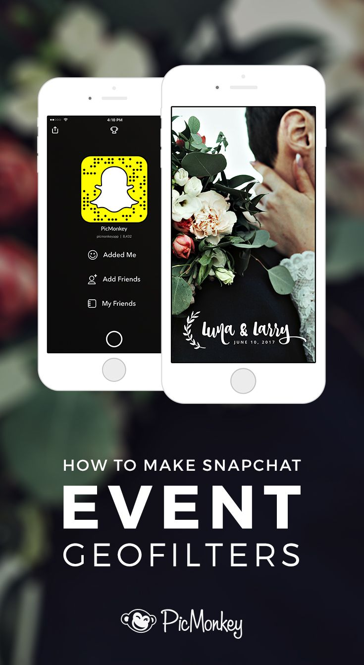 Make your special day exxxtra special with customized Snapchat geofilters. Whatever the occasion may be, PicMonkey has the tools you need. Try it out!